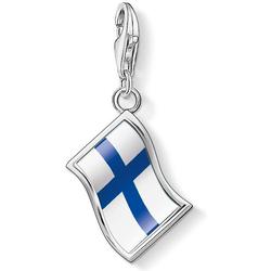 Thomas Sabo Flagge Finnland 1168-603-1 Charm Anhänger