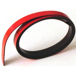 Magnetisches Band 1000x9x1mm rot