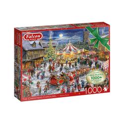 Falcon Puzzle 11308 Daniela Pirola The Christmas Carousel, 1000 Puzzleteile