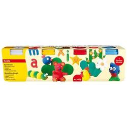 Spielknete Basic VE=4x140g 4 Farben