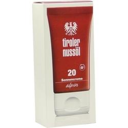 TIROLER NUSSÖL alpin Sonnencreme LSF 20 40 ml