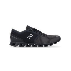 ON Damen Laufschuhe/Sneaker Cloud X Black/Asphalt - Black/Asphalt