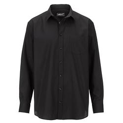 Hemd Men Plus Schwarz