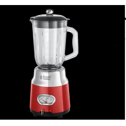 Russell Hobbs Standmixer Retro Red Ribbon Retro, 1,5 l. Glasbehälter, rot
