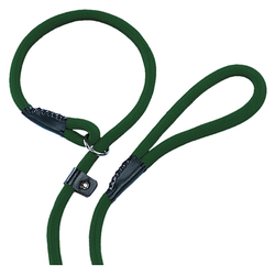Nobby Retriever-Leine Fun Uni grün, Maße: 170 cm / 13 mm