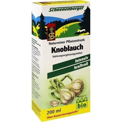 KNOBLAUCH NATURREINER Pflanzentr.Schoenenberger 200 ml