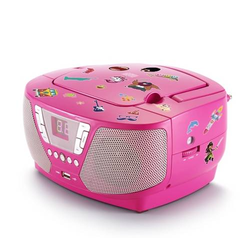 Tragbares CD/Radio - Kids pink NEU AU364460