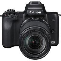 Canon EOS M50 schwarz + 18-150 mm IS STM