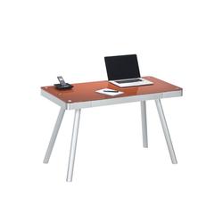 Vaja Möbel Kinderschreibtisch Schreibtisch Schreibtisch Alu/ Glas rot