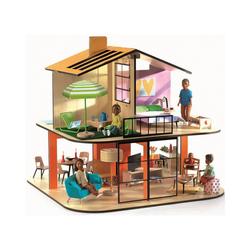 DJECO Puppenhaus Puppenhaus - Farbiges Haus