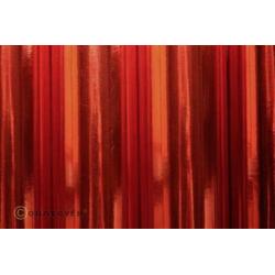 Oracover 21-093-010 Bügelfolie (L x B) 10m x 60cm Chrom-Rot