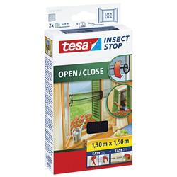 Tesa 55033 00021 00 1.3x1.5m Fliegengitter Fenster anthraz.