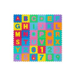 all Kids United Puzzlematte XXL Kinder-Spielteppich, 86 Puzzleteile, Buchstaben Spielmatte