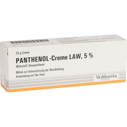 PANTHENOL-CREME LAW