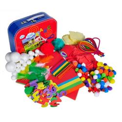 Knorrtoys® Kreativset Bastelkoffer Arts & Crafts, (Set, 300-tlg)