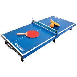 Donic Tischtennis-Set aus Mini-Tischtennistischplatte mit  2 Schlägern und 1 Ball,blau,