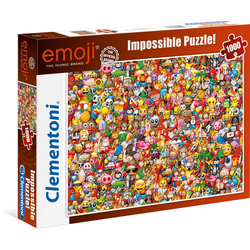 Clementoni® Puzzle Impossible Collection - Emoji, 1000 Puzzleteile, Made in Europe