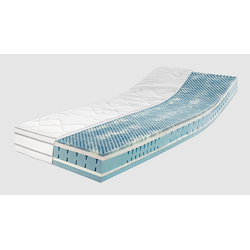 Visco-Matratze, Ravensberger Matratzen, mit Premium Cotton®-Bezug 200 cm x 90 cm