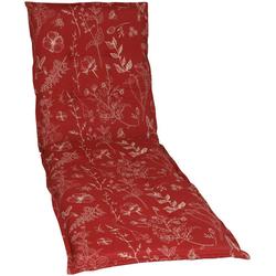 GO-DE Liegenauflage, 190 x 60 cm rot 60 cm x 190 cm