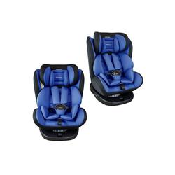 XOMAX Autokindersitz XOMAX 916 Auto Kindersitz Drehfunktion und ISOFIX für Kinder 0-36kg, 8,60 kg, Für Kinder von 0Kg bis 36Kg (ca. 1 - 12 Jahre) blau