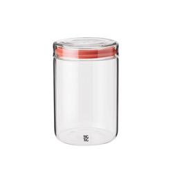Stelton Aufbewahrungsbox RIG-TIG Aufbewahrungsglas STORE-IT 1.0l, Glas, Silikon