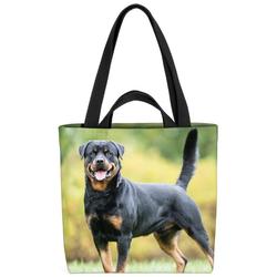VOID Henkeltasche (1-tlg), Rottweiler Rottweiler Hund Jagd Jagdhund Kampfhund Kampf Rasse Haustier