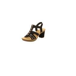Sandalen/Sandaletten Rieker schwarz