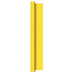 Duni Dunisilk+ Tischdecke Rolle 25x1,20m Circuits gelb - 2x1 Stück