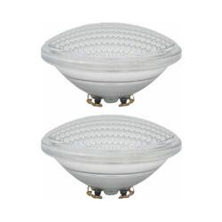 Etc-shop - Ensemble de 2 ampoules de piscine à LED SMD de 12 watts, lampes en verre PAR56, blanc