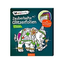 Zauberhafte Glitzerfolien - Tiere - Buch