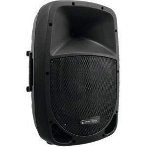 """Omnitronic VFM-212AP 2-Wege Lautsprecher, aktiv   Aktive 2-Wege-Box (12"""") mit 140 Watt für PA- und DJ-Anwendungen mit Audioplayer und Bluetooth   Kunststoffgehäuse mit Schutzgitter und Tragegriffen"""