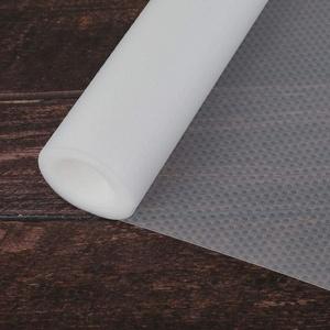 camouflage net Schubladenmatte, Schränke Antirutschmatt, Zuschneidbar Schubladeneinlage, Transparent Schrankpapier, Wasserdicht Matte für Regale Schubladen Kühlschranke Hause Büro (45 * 500CM)