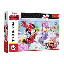 Trefl GmbH Puzzle Trefl 15373 - Minnie Mouse and Daisy, 160 Teile, 160 Puzzleteile