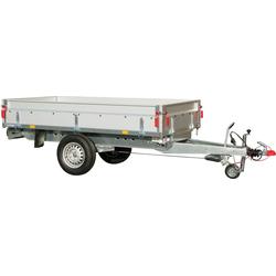 STEMA PKW-Anhänger BASIC SH 1300-25-13, max. 950 kg, Set, inkl. 100 cm Hochplanenset