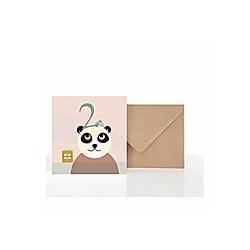 Grußkarte 2. Geburtstag (VE5)