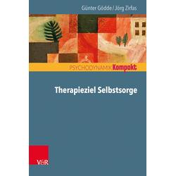Therapieziel Selbstsorge: eBook von Günter Gödde/ Jörg Zirfas