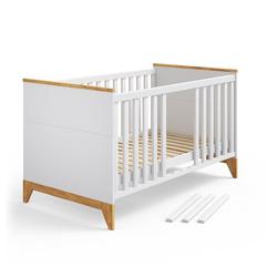 VitaliSpa® Kinderbett Babybett Malia Gitterbett Beistellbett Jugendbett 140x70cm