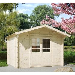 Kiehn-Holz Gartenhaus Breitenberg 1, BxT: 350x296 cm, inkl. Aufbau