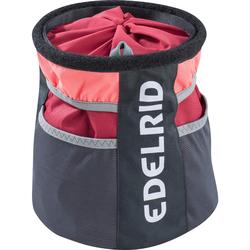 Edelrid BOULDER BAG II - Chalkbag - rot schwarz