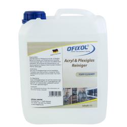 Ofixol Acryl- & Plexiglasreiniger, Spezialprodukt zur Reinigung von Acryl- & Plexiglasflächen, 5 Liter - Kanister