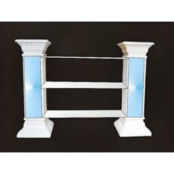 SK-1838 dekoratives Regal Säulenregal (Material: Gips)