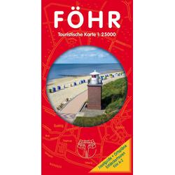 Föhr 1 : 25 000. Touristische Karte