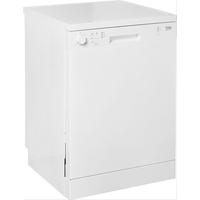 Beko DFN05L20W Stand-Geschirrspüler, 60 cm breit, 14 Maßgedecke, halbe Beladung, Water Safe, weiß
