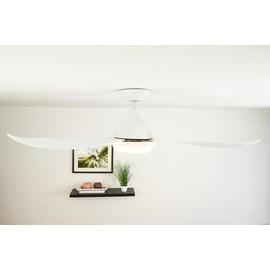 Pepeo Raja 122 cm Deckenventilator weiß mit Licht inkl. Fernbedienung