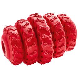 Hundespielzeug Talvik Reifen rot 10 cm