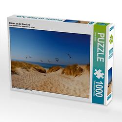 Dünen an der Nordsee Lege-Größe 64 x 48 cm Foto-Puzzle Bild von Peter Roder Puzzle