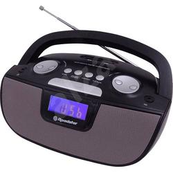 Roadstar RU-275 Radiorecorder Radiorecorder, SD, USB Schwarz