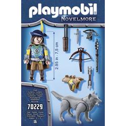 Playmobil® Novelmore Novelmore Armbrustschütze mit Wolf 70229
