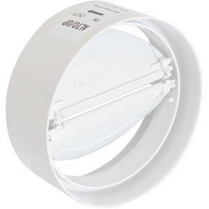 Die Belüftung cvl100b Kupplung aus ABS mit Drosselklappe Rückstauklappe, Ø 100 mm