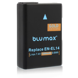 Akku wie Nikon EN-EL14/14a für Df, D3100, D3200, D3400, D5100, D5200, D5600, ...